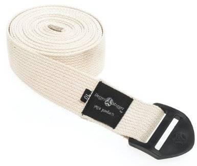 Hugger Mugger - Hugger Mugger 8 ft Cotton Strap with D Ring - Natural