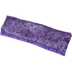 Hugger Mugger - Hugger Mugger Piccolo Silk Eyebag - Flax Purple
