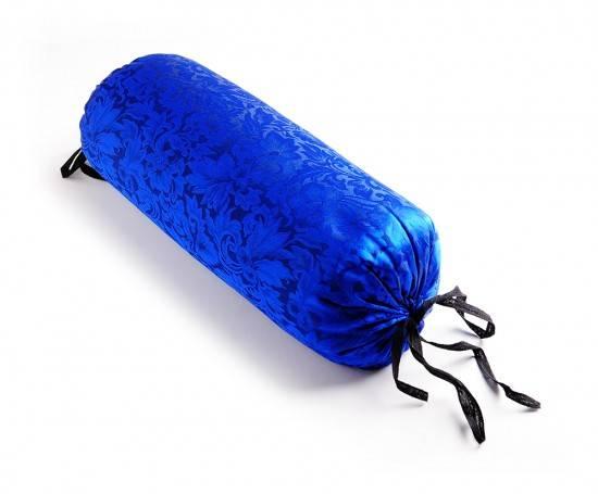 Hugger Mugger - Hugger Mugger Silk Neck Pillow - Colbalt