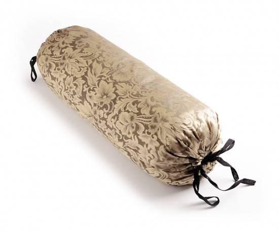 Hugger Mugger - Hugger Mugger Silk Neck Pillow - Gold