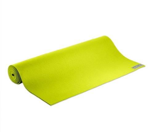 "Jade Yoga - Jade Yoga Yoga Mat 24"" x 74"" - Key Lime"