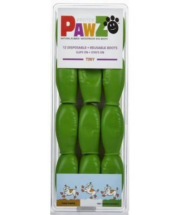 Pawz - Pawz Dog Boots Tiny - Apple Green