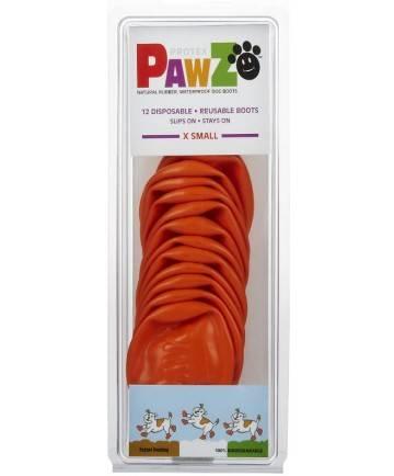 Pawz - Pawz Dog Boots X-Small - Orange