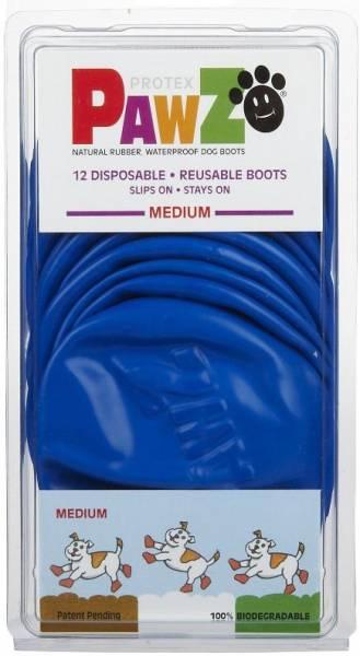 Pawz - Pawz Dog Boots Medium - Blue