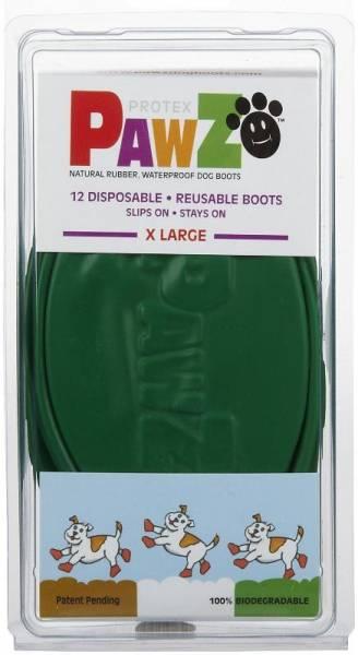 Pawz - Pawz Dog Boots X-Large - Green