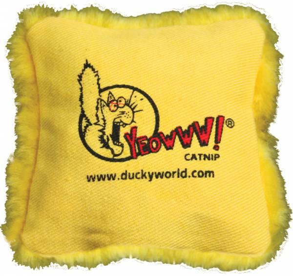 Yeowww! - Yeowww! Pillows - Yellow