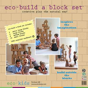 eco-kids - Eco-Kids Eco-Build A Block Set