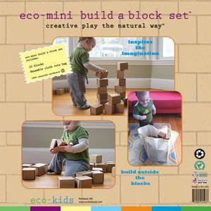 eco-kids - Eco-Kids Eco-Mini Build a Block Set