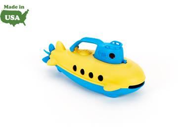 Green Toys - Green Toys Submarine - Yellow Handle
