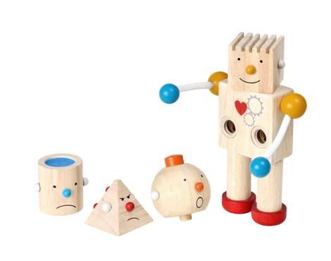 Plan Toys - Plan Toys Build-A-Robot