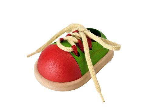 Plan Toys - Plan Toys Tie-Up Shoe
