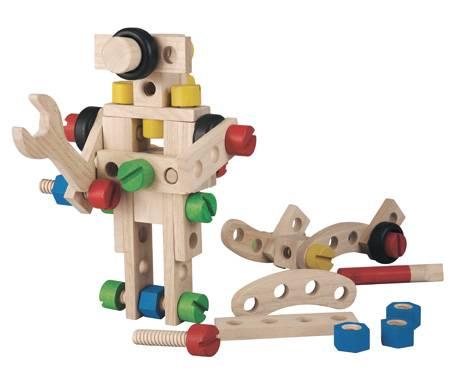 Plan Toys - Plan Toys 60 Construction Set