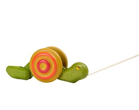 Plan Toys - Plan Toys Pull-Along Snail