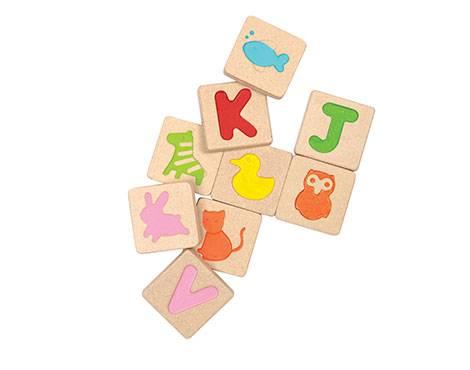 Plan Toys - Plan Toys Alphabet Tiles