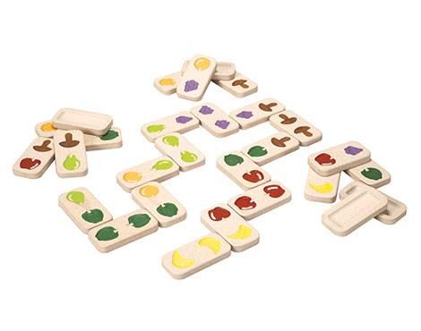 Plan Toys - Plan Toys Fruit & Veggie Domino