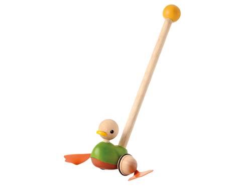 Plan Toys - Plan Toys Push Along Duck