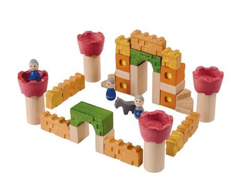 Plan Toys - Plan Toys Castle Blocks
