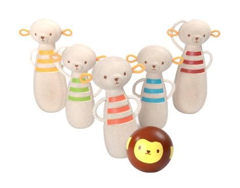 Plan Toys - Plan Toys Monkey Bowling