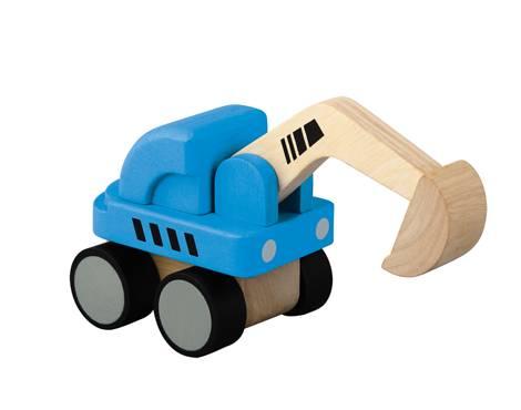 Plan Toys - Plan Toys Mini Excavator