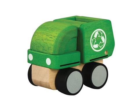 Plan Toys - Plan Toys Mini Garbage Truck