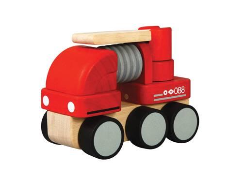 Plan Toys - Plan Toys Mini Fire Engine