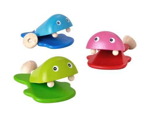 Plan Toys - Plan Toys Fish Castanet (12 Pcs)