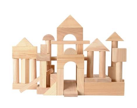 Plan Toys - Plan Toys 50 Unit Blocks