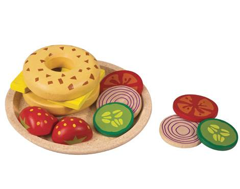 Plan Toys - Plan Toys Bagel with Cheese
