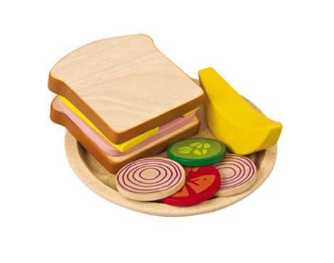 Plan Toys - Plan Toys Sandwich Meal