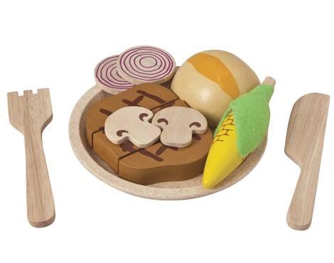 Plan Toys - Plan Toys Steak Set