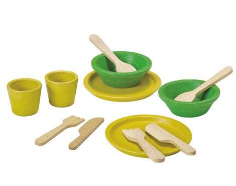 Plan Toys - Plan Toys Tableware Set
