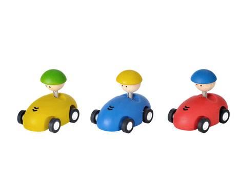 Plan Toys - Plan Toys Racing Car (6 Pcs)