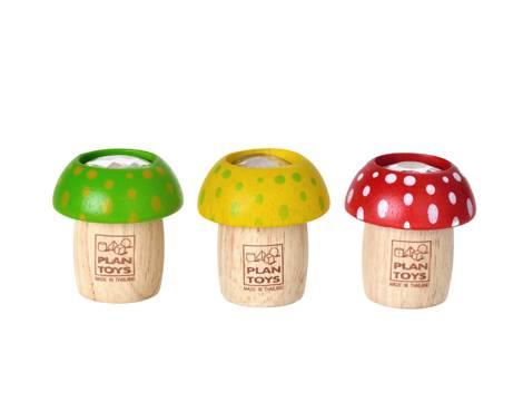 Plan Toys - Plan Toys Mushroom Kaleidoscope (6 Pcs)