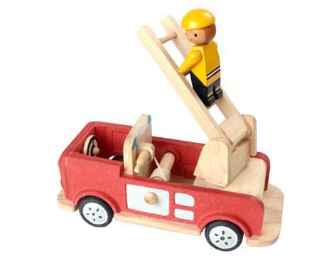 Plan Toys - Plan Toys Fire Engine II