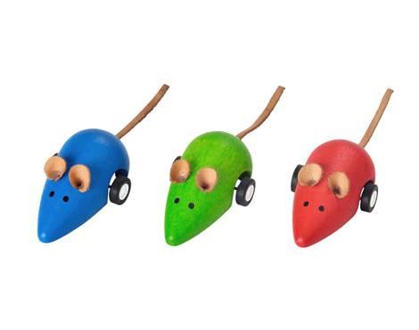 Plan Toys - Plan Toys Moving Mouse (6 Pcs)