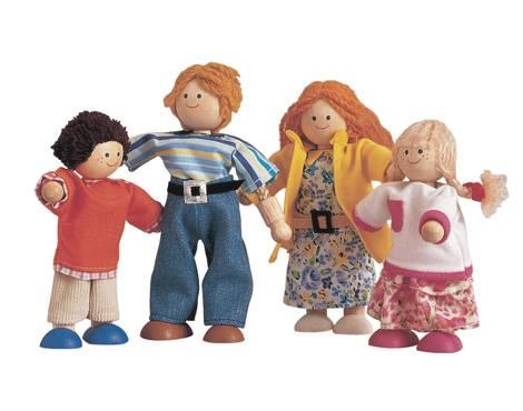 Plan Toys - Plan Toys Modern Doll Family