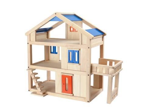 Plan Toys - Plan Toys Terrace Dollhouse