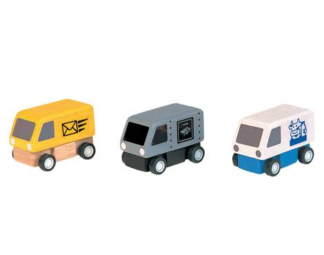 Plan Toys - Plan Toys Delivery Vans
