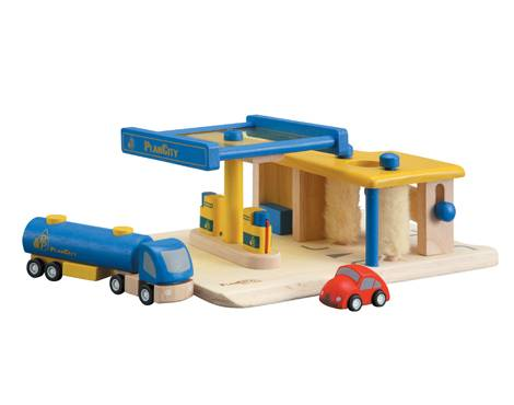Plan Toys - Plan Toys Gas Station