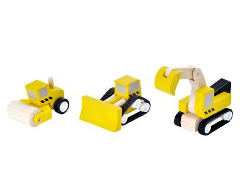 Plan Toys - Plan Toys Road Construction Set