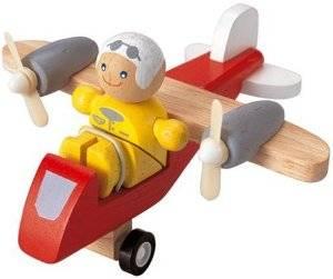 Plan Toys - Plan Toys Turboprop Airplane with Pilot
