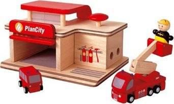 Plan Toys - Plan Toys Fire Station