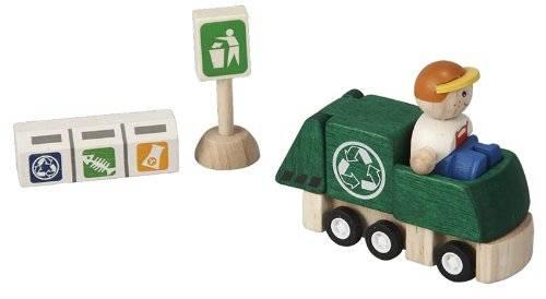 Plan Toys - Plan Toys Recycling Truck Set