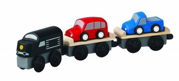 Plan Toys - Plan Toys Car Carrier Train