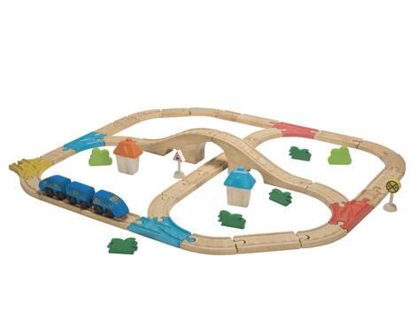 Plan Toys - Plan Toys Railway Set