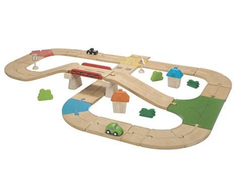 Plan Toys - Plan Toys Roadway Set