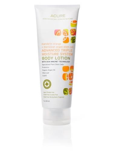 Acure Organics - Acure Organics Body Lotion Energizing Mandarin Orange + Moroccan Argan Stem Cell Tube 8 oz