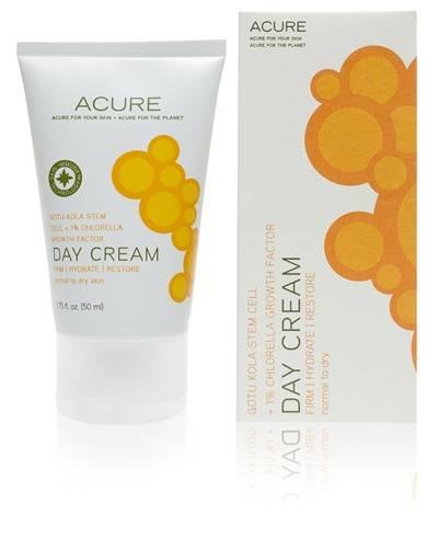 Acure Organics - Acure Organics Day Cream Gotu Kola Stem Cell +1% Chlorella Growth Factor 1.75 oz