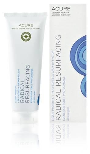 Acure Organics - Acure Organics Radical Resurfacing Lemon Probiotic + 1% Chlorella Growth Factor 1.4 oz