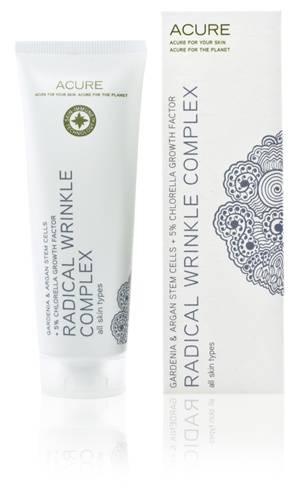 Acure Organics - Acure Organics Radical Wrinkle Complex Gardenia & Argan Stem Cells + 5% Chlorella Growth Factor 1.4 oz
